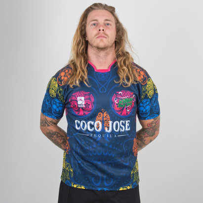 World Beach Rugby Acapulco Poco Locos 2018/19 Home Camiseta de Rugby