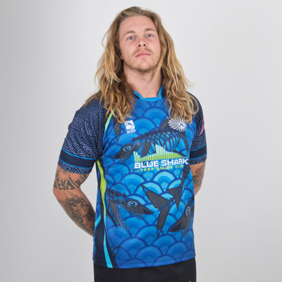 World Beach Rugby Bali Sharks 2018/19 Home Camiseta de Rugby