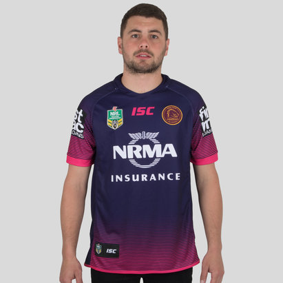 ISC Brisbane Broncos NRL 2018 Women in League Camiseta de Rugby