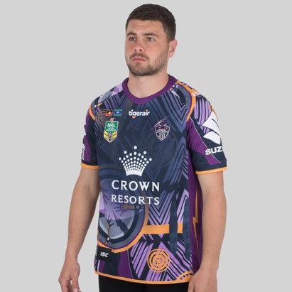 ISC Melbourne Storm NRL Indigenous Camiseta de Rugby