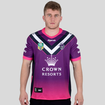 ISC Melbourne Storm NRL 2018 Women in League Camiseta de Rugby