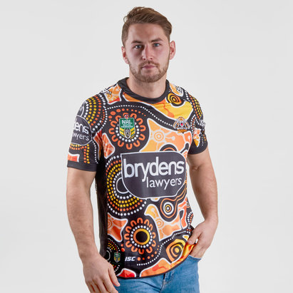 ISC Wests Tigers NRL 2018 Indigenous Camiseta de Rugby