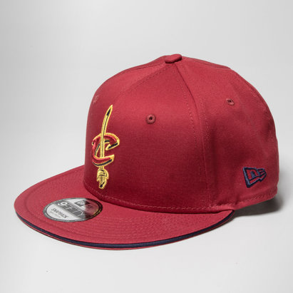 New Era NBA Cleveland Cavaliers Team Snapback Gorra