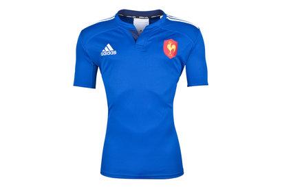 adidas Francia Autentica Camiseta de Entrenamiento de Rugby
