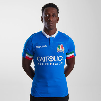 Macron Italy 2018/19 Home Test Camiseta de Rugby