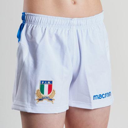 Macron Italia 2018/19 Home Shorts de Rugby Para Niños