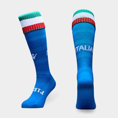 Macron Italia 2018/19 Match de Rugby Calzetines