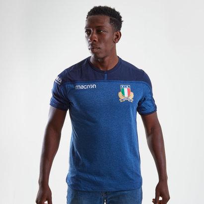 Macron Italia 2018/19 Camiseta de Viaje de Rugby