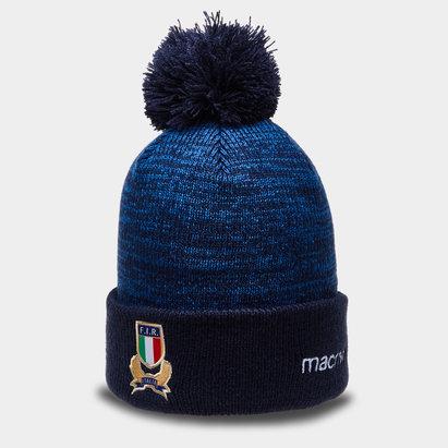 Macron Italia 2018/19 Gorro Pom pom de Rugby