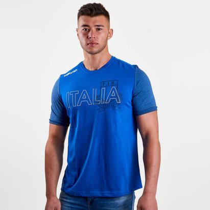 Macron Italia 2018/19 Camiseta Rugby de Aficionado