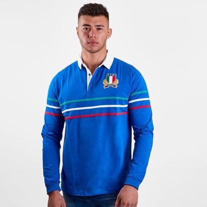 Macron Italia 2018/19 Camiseta de Rugby de Aficionado