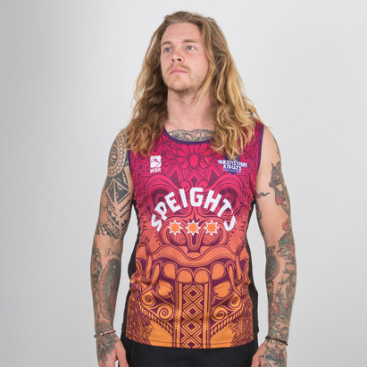 World Beach Rugby Queensland Knights 2018/19 Camiseta sin Mangas de Rugby