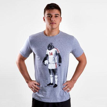 Rugby Division Gorilla Graphic Camiseta de Rugby
