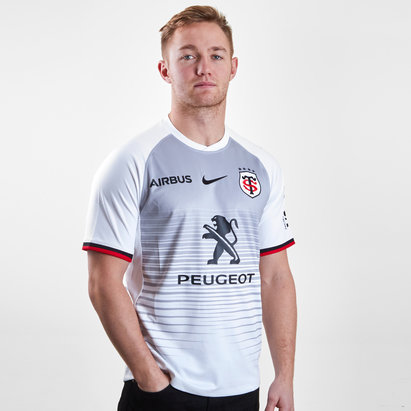 Nike Toulouse 2018/19 Camiseta Alternativa Replica de Rugby
