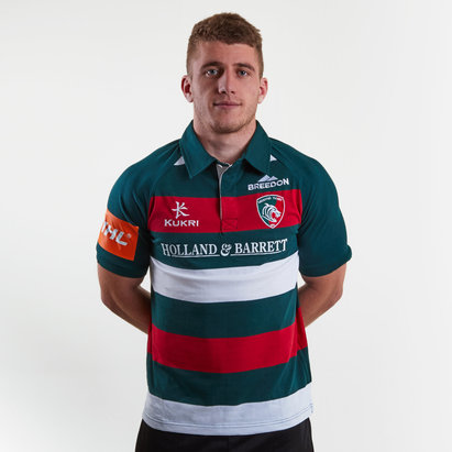 Kukri Leicester Tigers 2018/19 Camiseta Local Clasica de Rugby