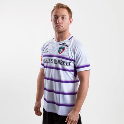 Kukri Leicester Tigers 2018/19 Camiseta Replica Alternativa de Rugby