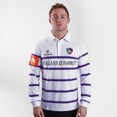 Kukri Leicester Tigers 2018/19 Camiseta Alternativa Clasica de Rugby