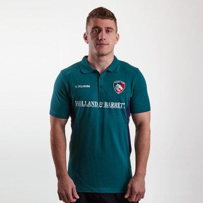 Kukri Leicester Tigers 2018/19 Polo de Jugador de Rugby