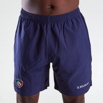 Kukri Leicester Tigers 2018/19 Shorts tejidos de Gimnasio de Rugby