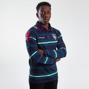 Kukri Leicester Tigers 2018/19 Yarn Dye Camiseta de Rugby
