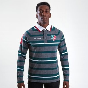Kukri Leicester Tigers 2018/19 Camiseta de Rugby Yarn Dye