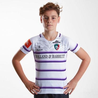 Kukri Leicester Tigers 2018/19 Replica Camiseta Alternativa de Rugby para Niños