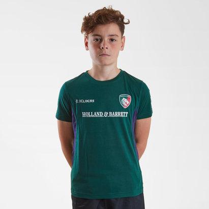 Kukri Leicester Tigers 2018/19 Camiseta de Rugby para Niños