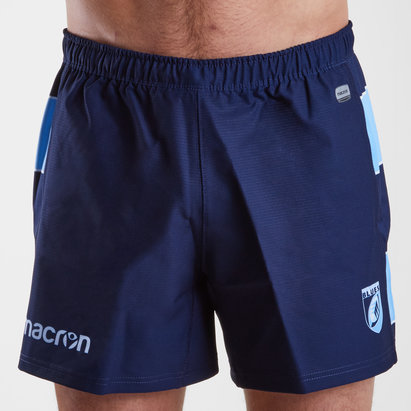 Macron Cardiff Blues 2018/19 Home Shorts de Rugby