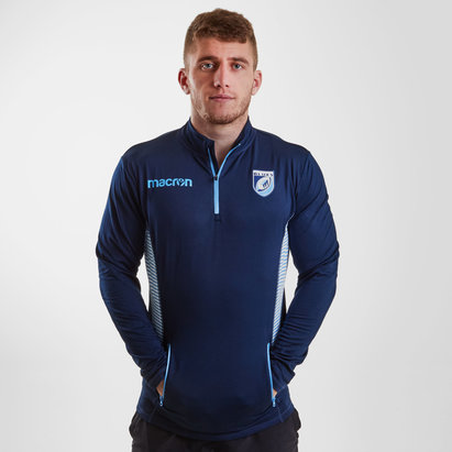 Macron Cardiff Blues 2018/19 Chaqueta de viaje de Rugby