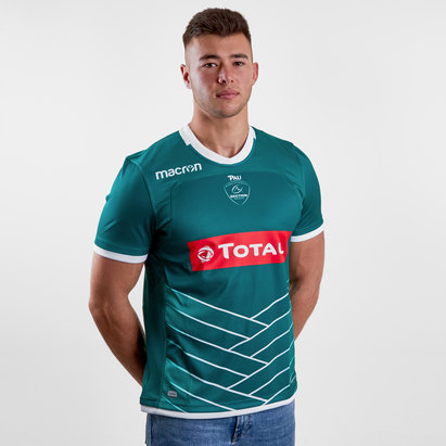 Macron Pau 2018/19 Camiseta de Rugby Alternativa