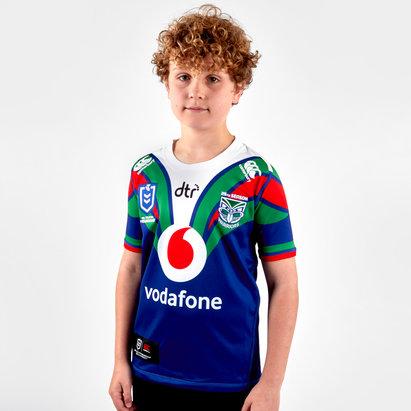 Canterbury Nueva Zelanda Warriors NRL 2019 Camiseta de Rugby para Niños