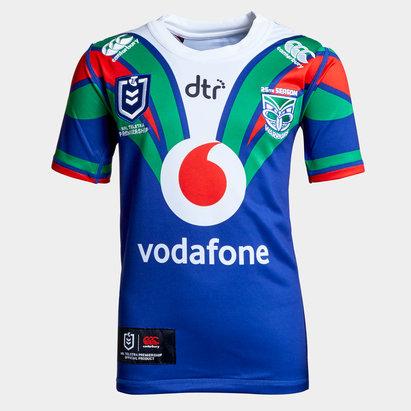 Canterbury Nueva Zelanda Warriors NRL 2019 Camiseta de Rugby para Adolocentes