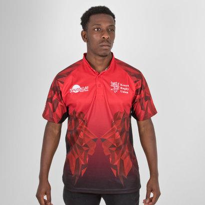Samurai Kenya 7s 2018 Home Replica Camiseta de Rugby