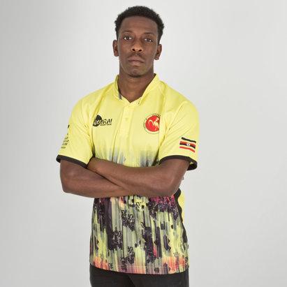 Samurai Uganda 7s 2018 RWC Home Camiseta Replica de Rugby
