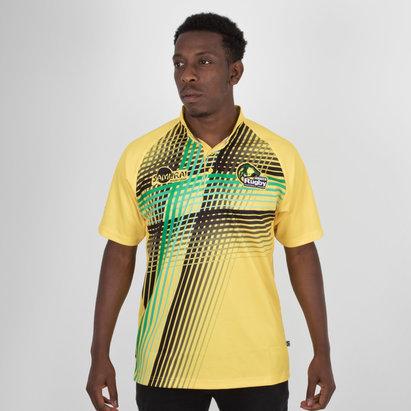 Samurai Jamaica 7s 2018 RWC Alternativa Camiseta Replica de Rugby