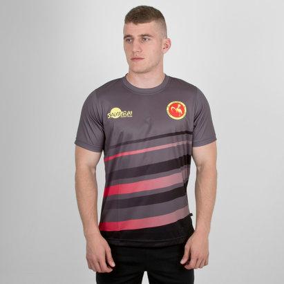 Samurai Uganda 7s 2018 RWC Camiseta de Rugby