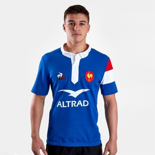 Le Coq Sportif Francia 2018/19 Home Camiseta de Rugby