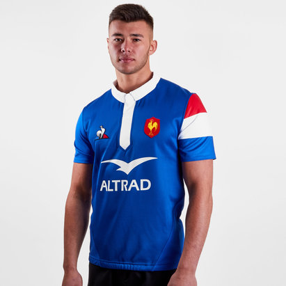 Le Coq Sportif Francia 2018/19 Home Camiseta Autentica de Test Match