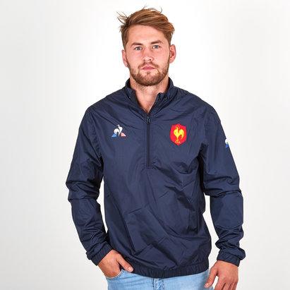 Le Coq Sportif Francia 2018/19 Chaqueta Rompeviento de Rugby Entrenamiento
