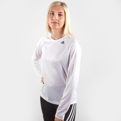 adidas D2M T-Shirt de Entrenamiento para Damas