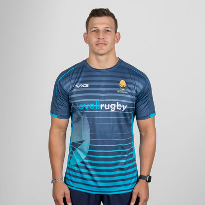 VX-3 Worcester Warriors 2018/19 Camiseta Sublimada de Rugby