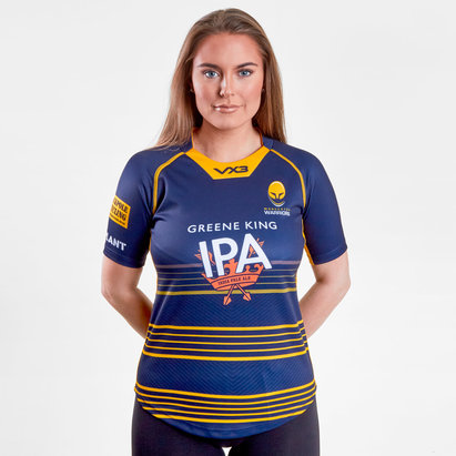 VX-3 Worcester Warriors 2018/19 Home - Replica, Camiseta de Rugby para Damas