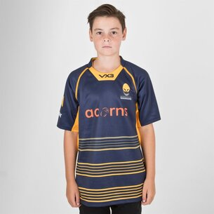 VX-3 Worcester Warriors 2018/19 Home - Replica, Camiseta de Rugby para Niños