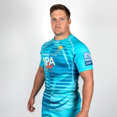 VX-3 Worcester Warriors 2018/19 Alternativa - Camiseta de Rugby para Jogadores