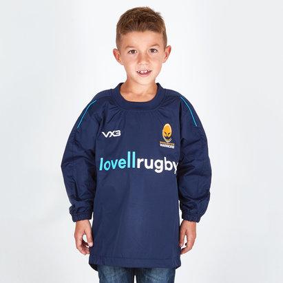 VX-3 Worcester Warriors 2018/19 Top de Contacto Pro de Rugby para Niños
