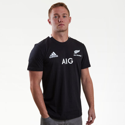 adidas Nueva Zelanda All Blacks 2018/19 Home Camiseta de Rugby
