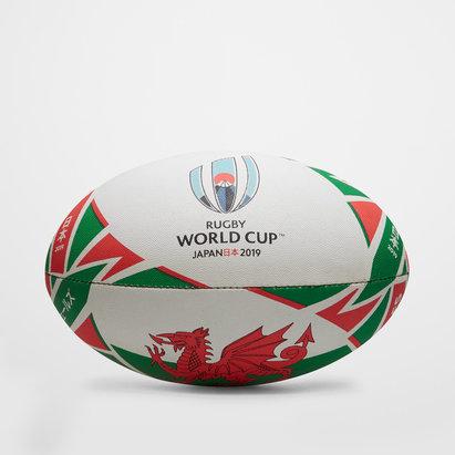 Gilbert RWC 2019 Gales Replica Oficial Balon de Rugby