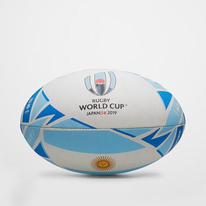 Gilbert RWC 2019 Argentina Replica Oficial Balon de Rugby