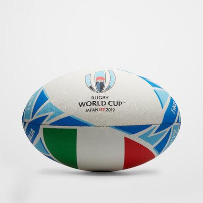Gilbert RWC 2019 Italia Replica Oficial Balon De Rugby