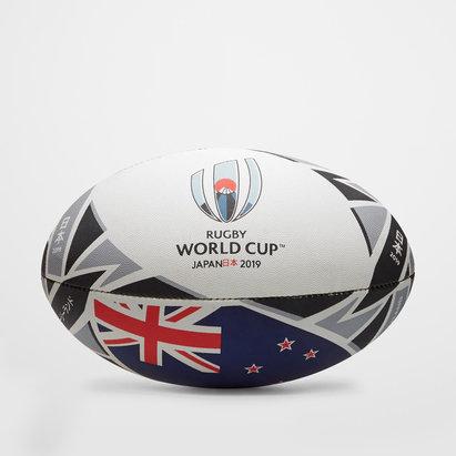 Gilbert RWC 2019 Nueva Zelanda Replica Oficial Balon de Rugby
